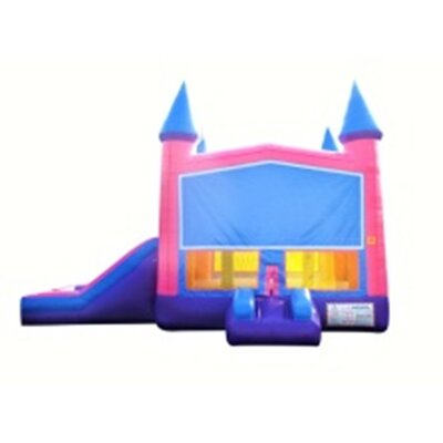 Princess Xtreme Wet/Dry Commercial Grade Inflatable Bouncy House and Slide Combo