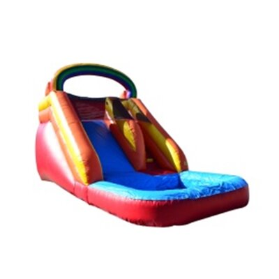 Rainbow Titan Wet/Dry Commercial Grade Inflatable Water Slide