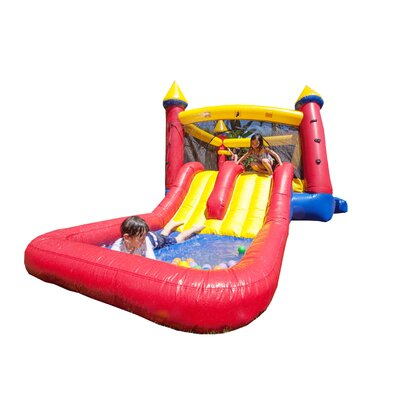"Kiddo Jump ""N"" Water Slide Fun Bounce House JOK-Ccastle18"