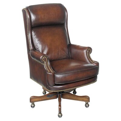 Maximilian Executive Chair Leather: James River Walnut Product Image 77