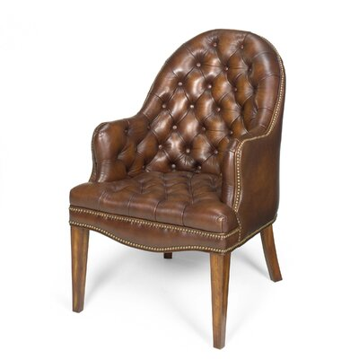 Cleveland Leather Executive Lounge Chair Leather: Derby Brown Product Picture 1546