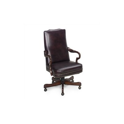 Evanston Executive Chair Leather: Empire Egyptian Brown Product Picture 1546