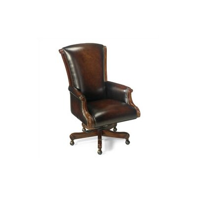 Vincenzo Executive Chair Leather: James River Edgewood Brown Product Image 5839