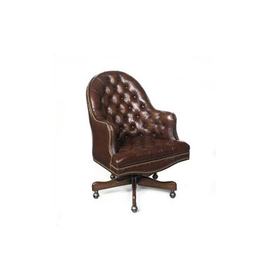 Cleveland Executive Chair Leather: Derby Brown Product Picture 1546
