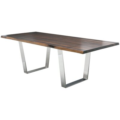 Versailles Dining Table Top Finish: Seared Oak