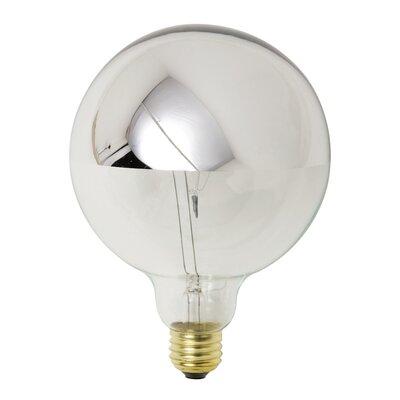 25W Chrome Incandescent Light Bulb