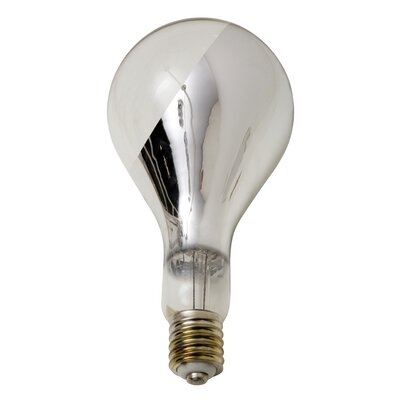 100W Chrome 110-130-Volt E39-Light Bulb