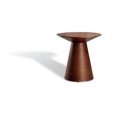 Anika End Table Finish: Tan Walnut