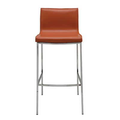 Colter Bar Stool Upholstery: Ochre