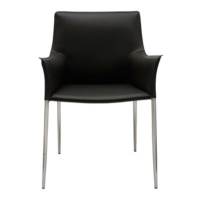 Colter Arm Chair Upholstery: Black