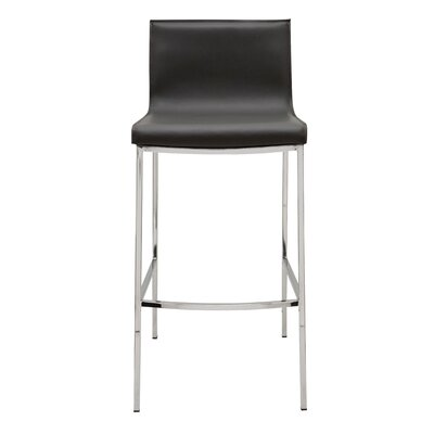 Colter 25.5 Bar Stool Upholstery: Dark Grey