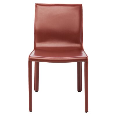 Colter Side Chair Upholstery: Bordeaux