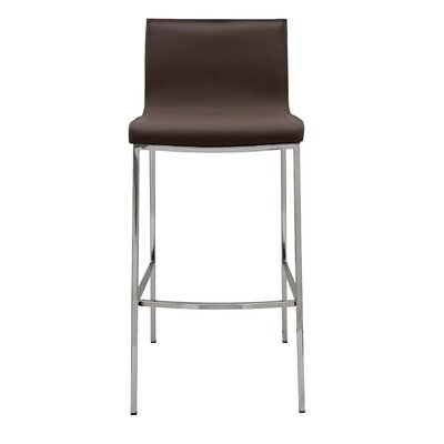 Colter 25.5 Bar Stool Upholstery: Mink