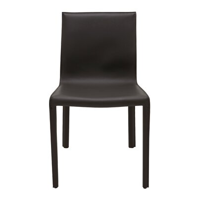 Colter Side Chair Upholstery: Black
