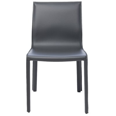 Colter Side Chair Upholstery: Dark Grey