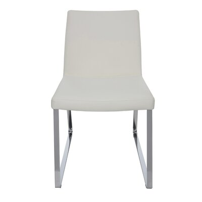 Tanis Parsons Chair Upholstery: White