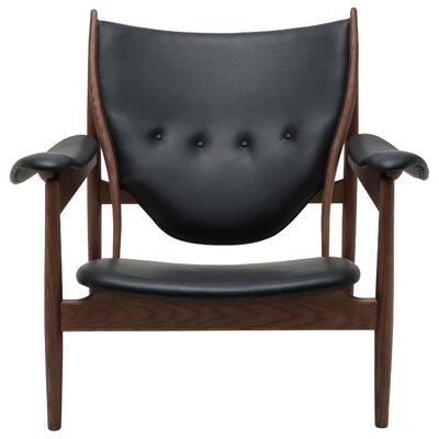 Grande Armchair Upholstery: Black