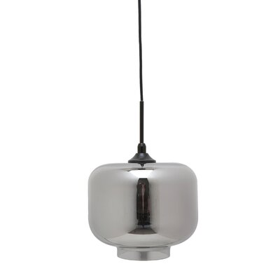Charles 1-Light Mini Pendant Shade Color: Smoked Grey