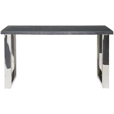 Lyon Console Table Top Finish: Oxidized Gray