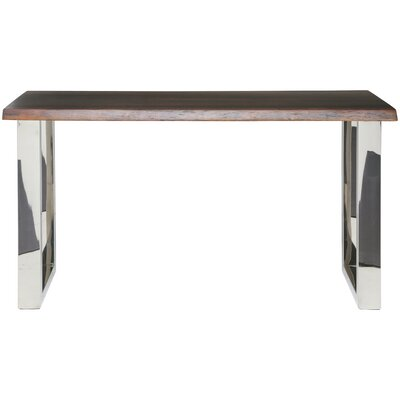 Lyon Console Table Top Finish: Seared Oak