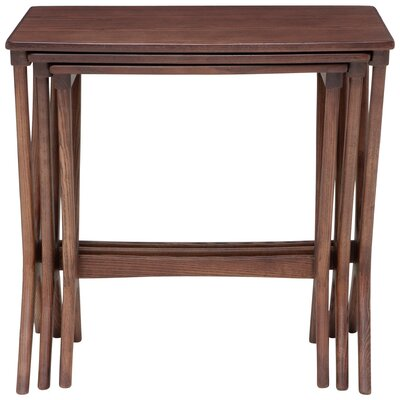 Josef End Table Color: Stained Walnut