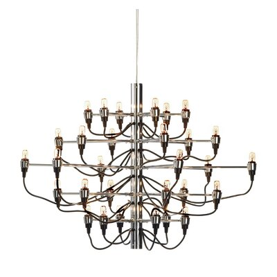 Medusa 30-Light Candle-Style Chandelier