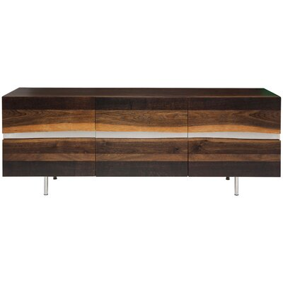 Sorrento Sideboard Color: Seared Oak