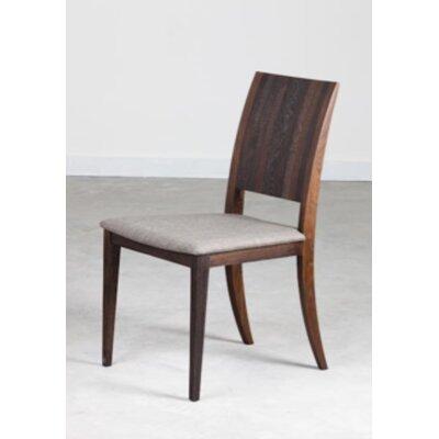 Eska Side Chair Upholstery: Brown