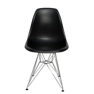 Max Side Chair Upholstery: Black
