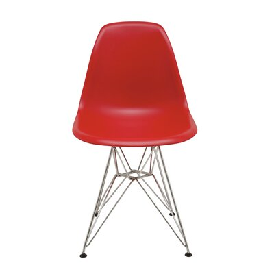 Max Side Chair Upholstery: Red