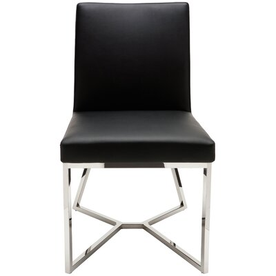 Patrice Parsons Chair Upholstery: Black