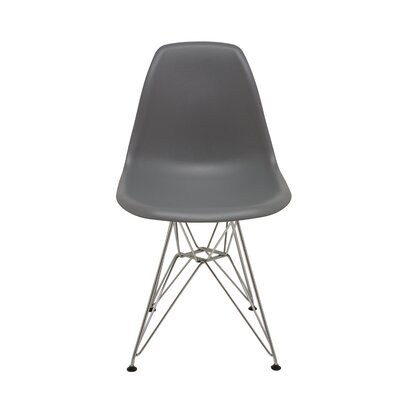 Max Side Chair Upholstery: Grey