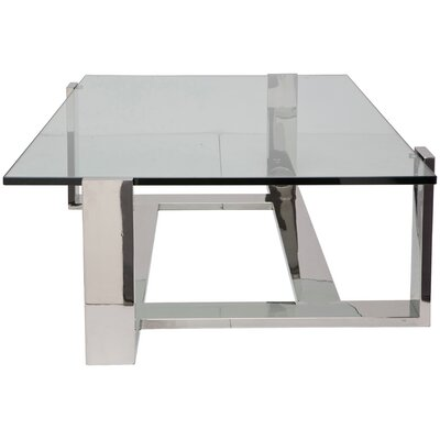 Flynn Coffee Table Size: 16 H x 54 W x 36 D