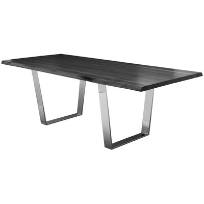Versailles Dining Table Top Finish: Grey Oxidised Oak