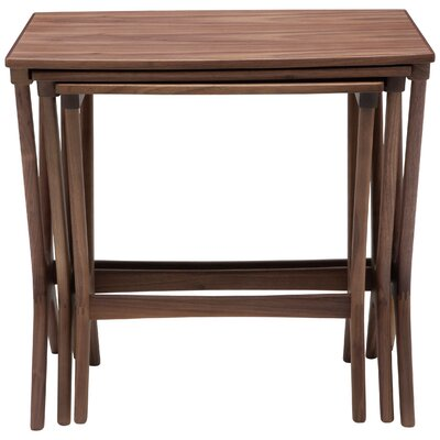 Josef End Table Finish: Walnut