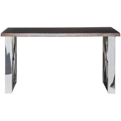 Aix Console Table Top Finish: Seared Oak