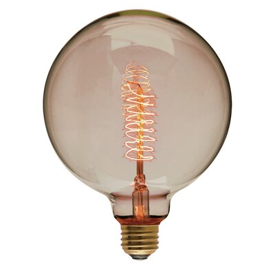 40W Gold 110-130-Volt E26-Light Bulb
