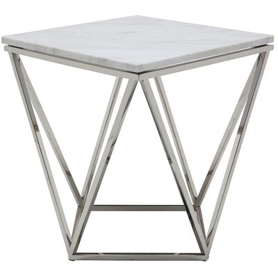 Jasmine End Table Finish: Polished