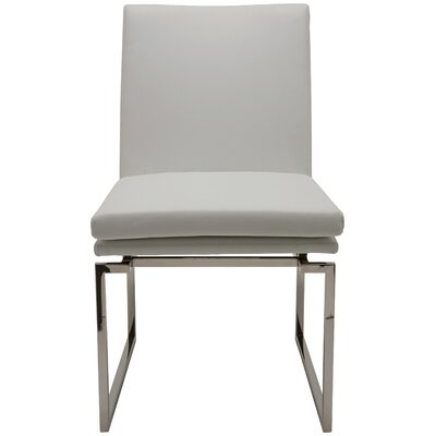 Savine Parsons Chair Upholstery: Grey