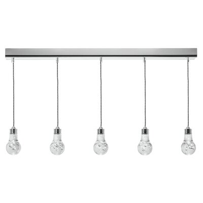 Florian 5-Light Kitchen Island Pendant