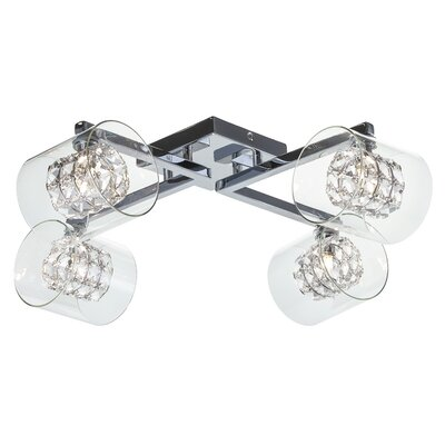 Elsa 4-Light Semi Flush Mount