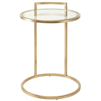 Lily End Table Finish: Gold