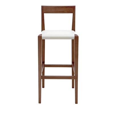 Ameri 26 Bar Stool Upholstery: White
