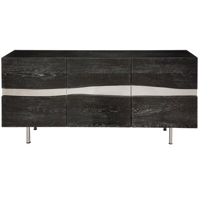 Sorrento Sideboard Color: Grey Oak