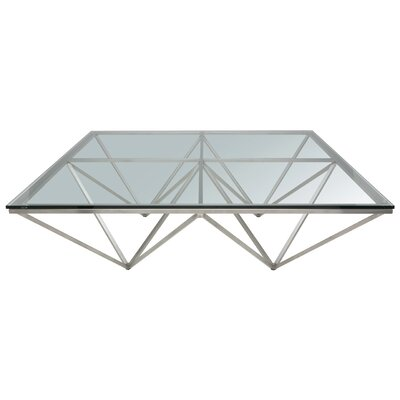 Origami Coffee Table Size: 15 H x 47.25 W x 47.25 D