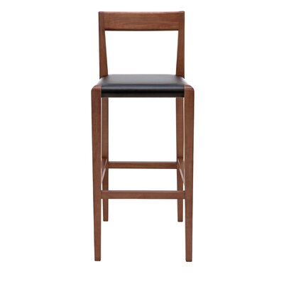Ameri 26 Bar Stool Upholstery: Black
