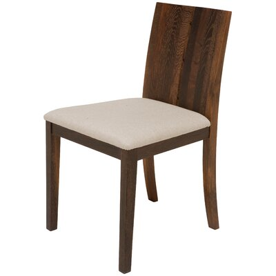 Eva Side Chair Finish: Seared French Oak