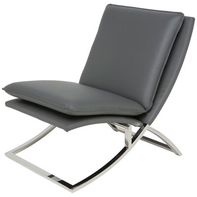 Neo Lounge Chair Upholstery: Grey