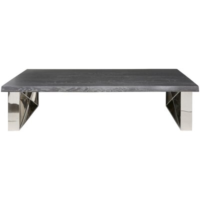 Aix Coffee Table Top Finish: Oxidised Grey