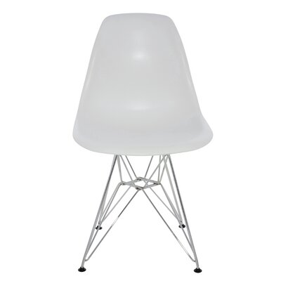Max Side Chair Upholstery: White